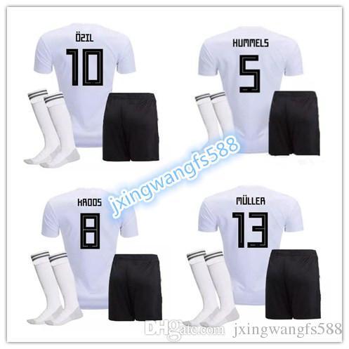 3fa84ff18 2014 world cup germany 8 ozil home soccer shirt kit