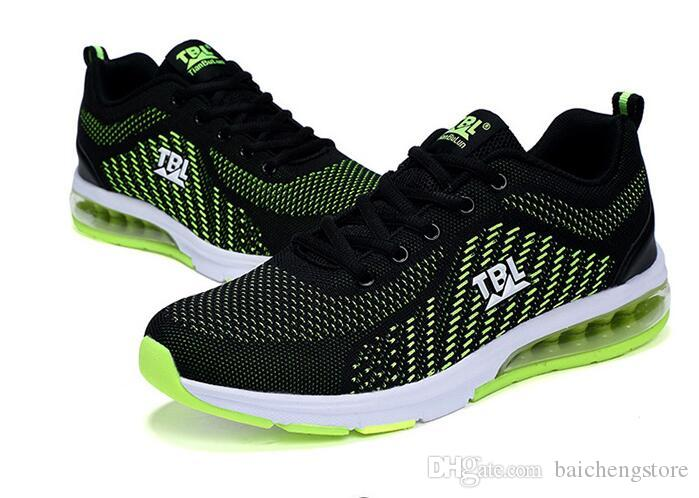 4112737da43670 2018 Hot Sale Four Seasons Running Shoes Men Lace Up Athletic Trainers  Zapatillas Sports Male Shoes Outdoor Walking Sneakers A0153 Dasual Shoes On  Sale ...