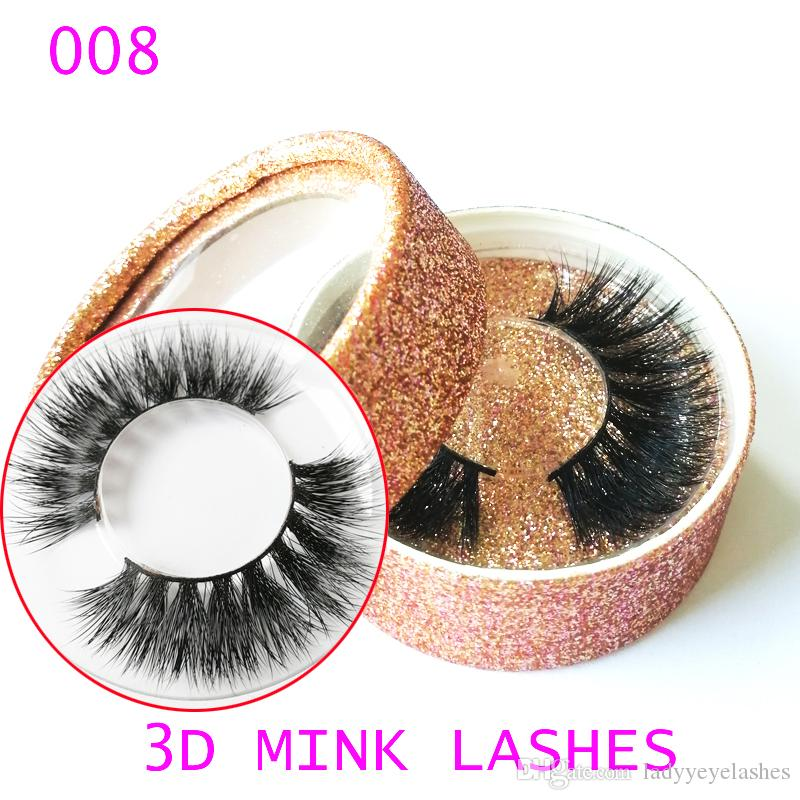 4db1414a9c4 Private Label 3D Mink Eyelashes 3D Mink False Lashes Luxury Hand ...