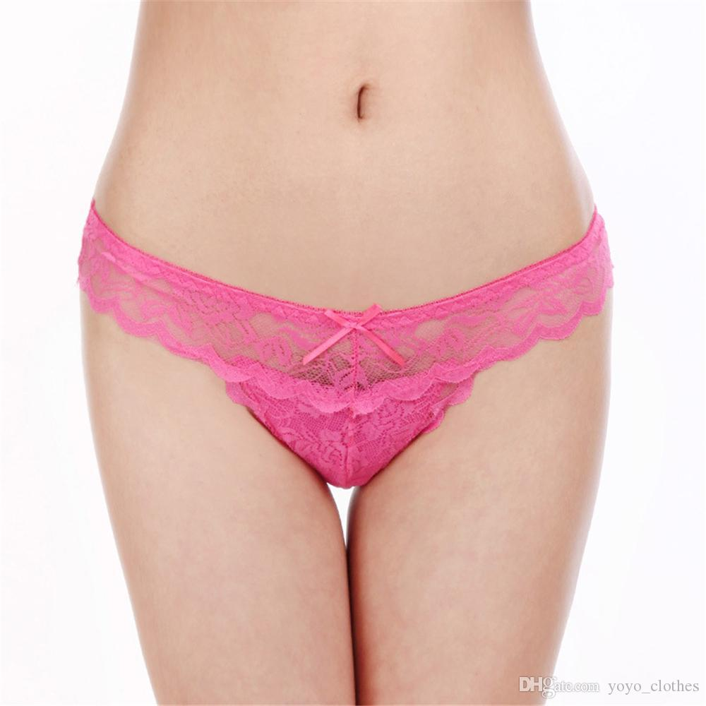 2fc239e29223 2019 Women Sexy Lace Panties Breathable Seamless Briefs Hollow Women  Underwear Girl Thongs Lady Panties Lace Lingerie From Yoyo_clothes, $3.27 |  DHgate.Com