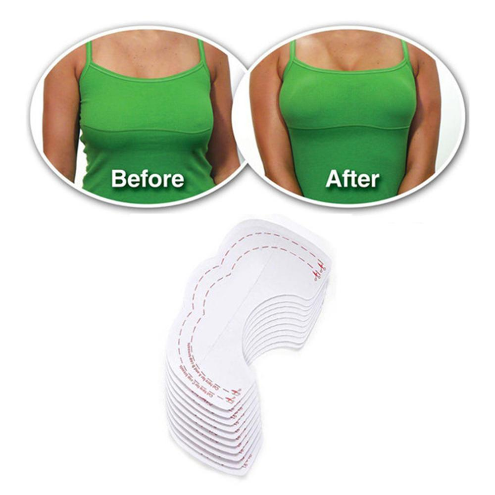 ec7e06ae5bf 2019 Sexy Women Adhesive Nipple Cover Pads Invisible Breast Lift Up Bra  Tape Sticker Disposable Paste Anti Emptied Chest Paste From Matilian