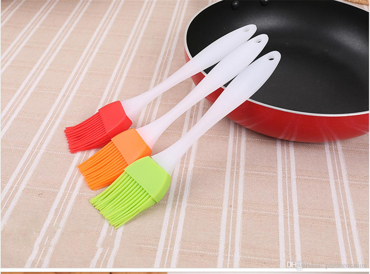 Colorful Silicone Pastry Brush Baking Bakeware BBQ Cake Pastry Bread Oil Cream Kitchen Accessories Gadgets Cooking Basting Tools