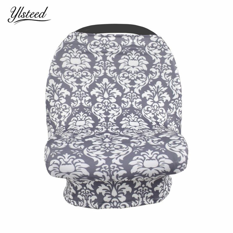Baby Floral Nursing Apron Car Seat Cover Carseat Canopy Nursing Covers Delantal de lactancia Baby Feeding Cover