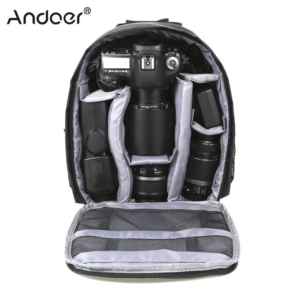 2019 Outdoor Small DSLR Camera Bag Digital Camera Backpack Water Resistant  Multi Functional Breathable Bag For From Xanto