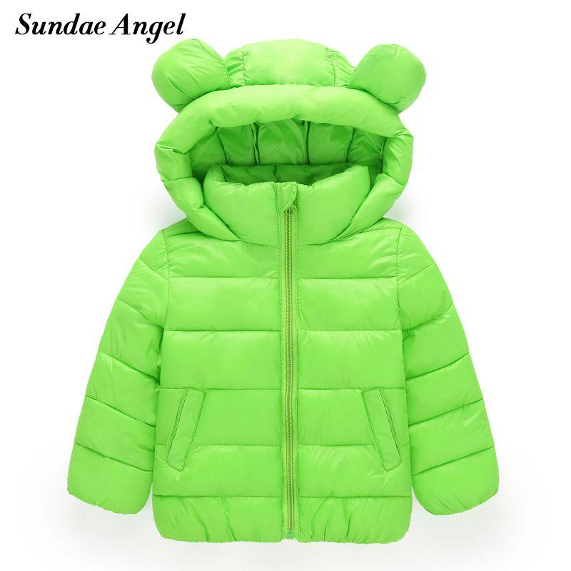 483da306a12c Sundae Angel Girl Jackets Girls Outerwear Coats Long Sleeve Solid ...