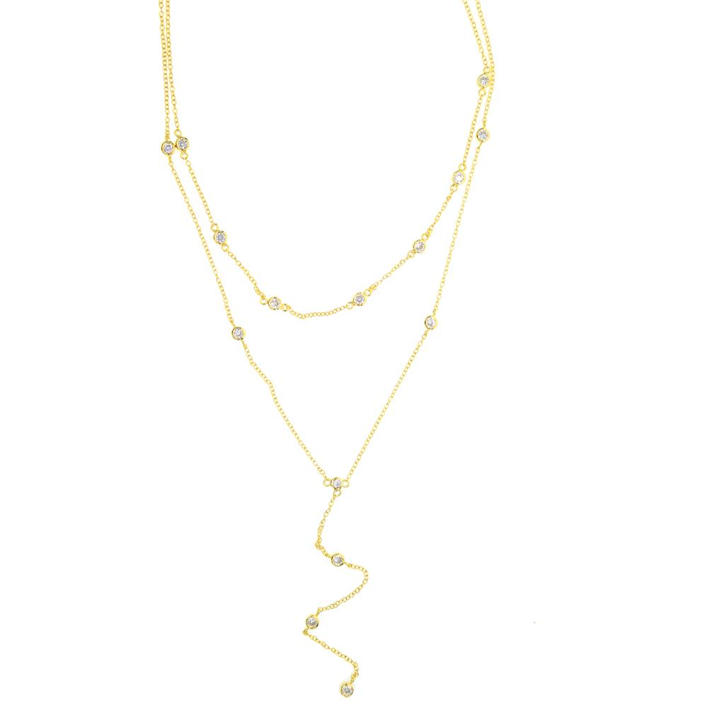 moon en half necklace necklaces multilayer bijoux