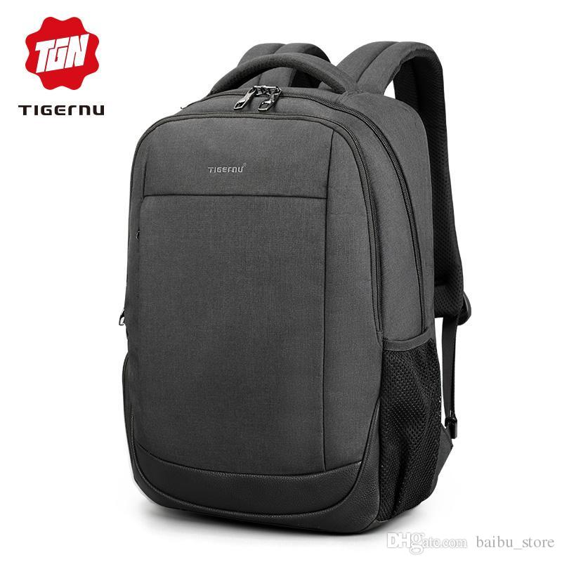 05eda38fb8 2018 Tigernu Brand USB Charging Male Backpack Anti Theft 15.6Laptop  Business Backpack Bag Women School Bag Mochila For Men Rucksack Jansport  Backpacks From ...