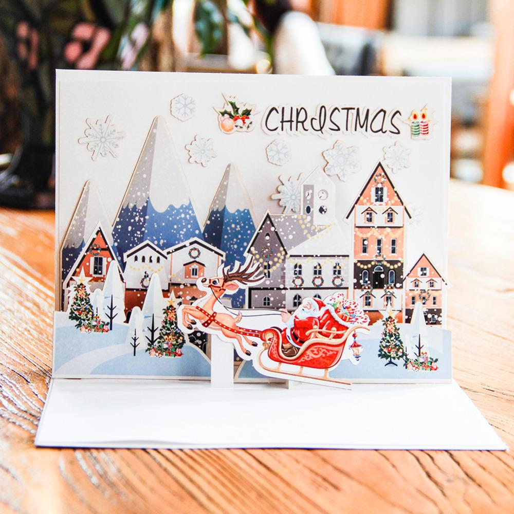 Wholesale diy merry christmas greeting card semi finished card with wholesale diy merry christmas greeting card semi finished card with making material and double sided adhesive handmade diy christmas card assorted greeting m4hsunfo