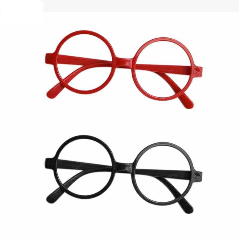 e164db7858 2019 Kids Harry Potter Glasses Frame Round Spectacle Frames Harry Potter  School Boy Fashion Glasses Frame Without Lenses GGA963 From B2b baby