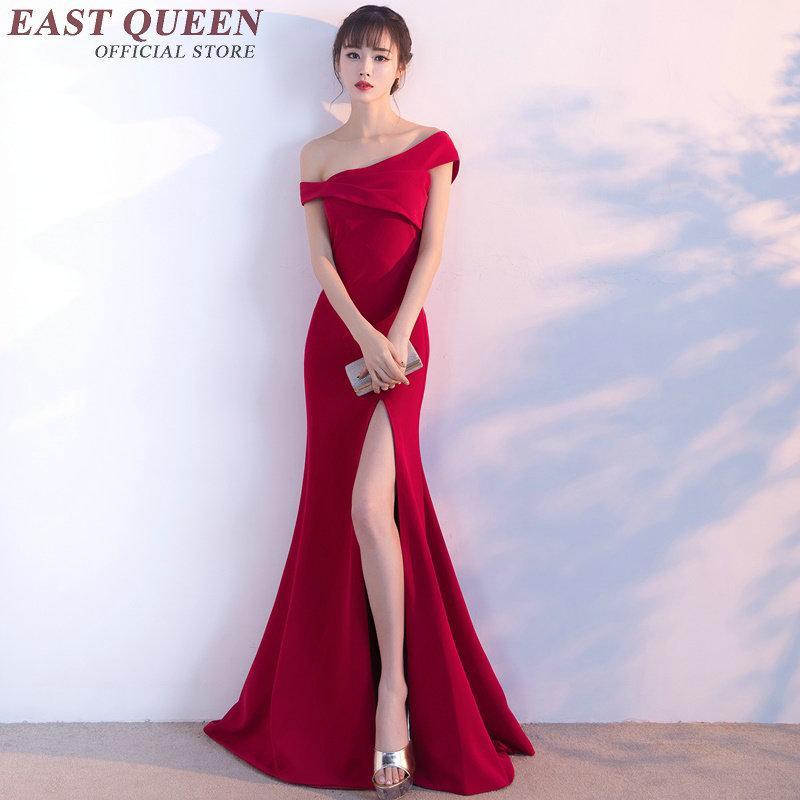 c82b4d6fdbef Acquista Abito Tradizionale Cinese Donna Abiti Orientali Cinesi Fuori  Spalla Abito 2018 Abbigliamento Etnico Signore AA2222 YW A  123.0 Dal  Wochanmei ...