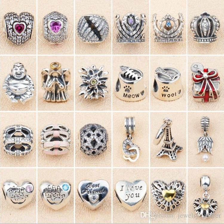Beads 2019 Summer Collection 925 Sterling Silver Beads Handbag Charms With Pink And Clear Cz Fits Original Pandora Charm Bracelet Diy Spare No Cost At Any Cost