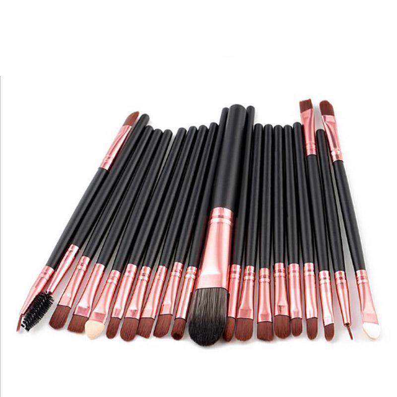 Kit de pinceau de maquillage professionnel / set cosmétiques esthéticienne Maquillage Pinceaux Yeux de sourcil