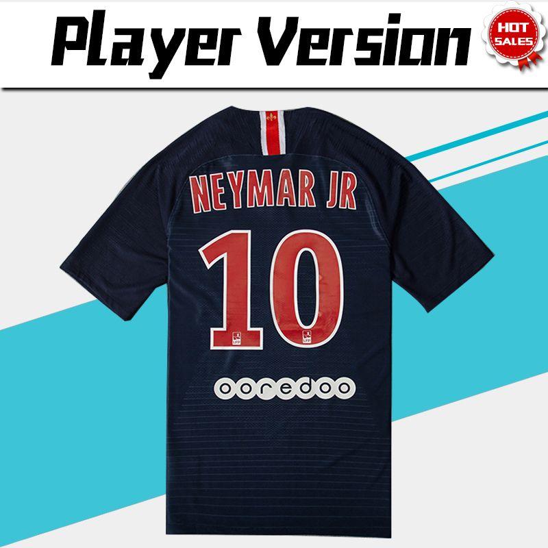 2019 18 19 Player Version PSG  10 NEYMAR JR Home Soccer Jersey 2019 Paris  Saint Germain Home Soccer Shirt  6 VERRATTI  7 MBAPPE Football Uniform From  ... 5c99c1fc4