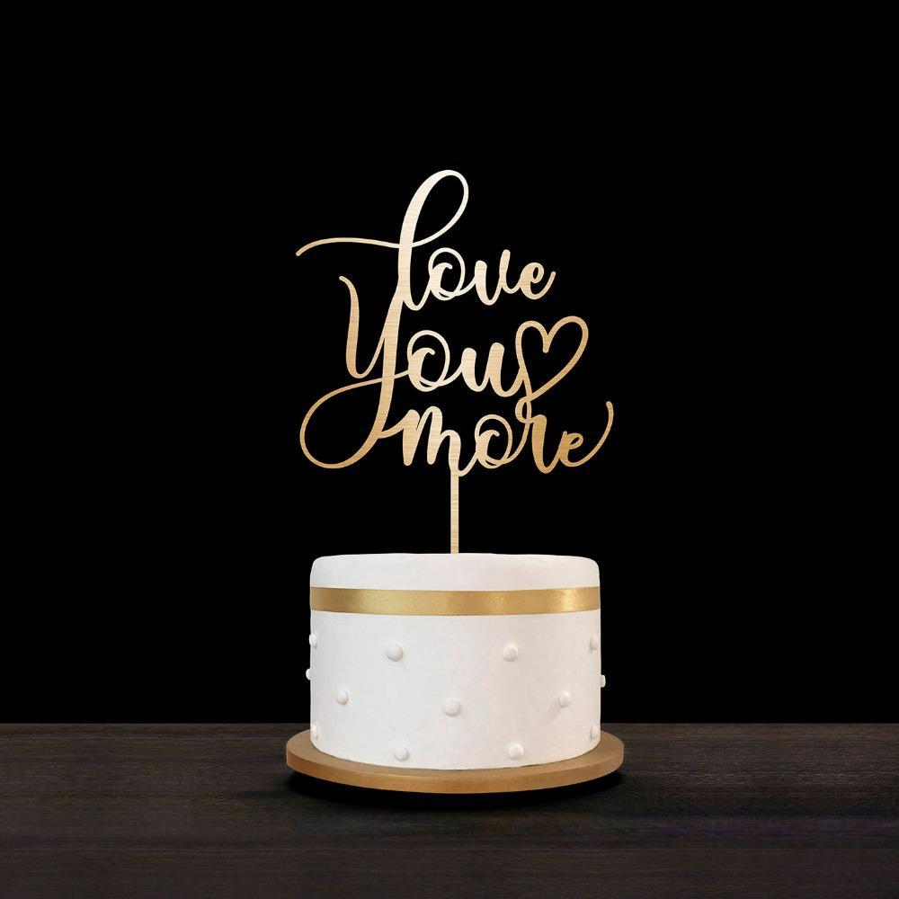 Grosshandel Individuelle Hochzeitstorte Topper Personalisierte Cake