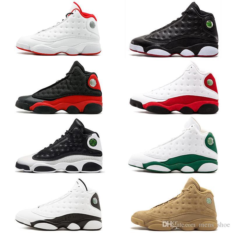 1e3bf007376 2018 New 13s Basketball Shoes Black Cat Playoffs Pure Money Chicago ...