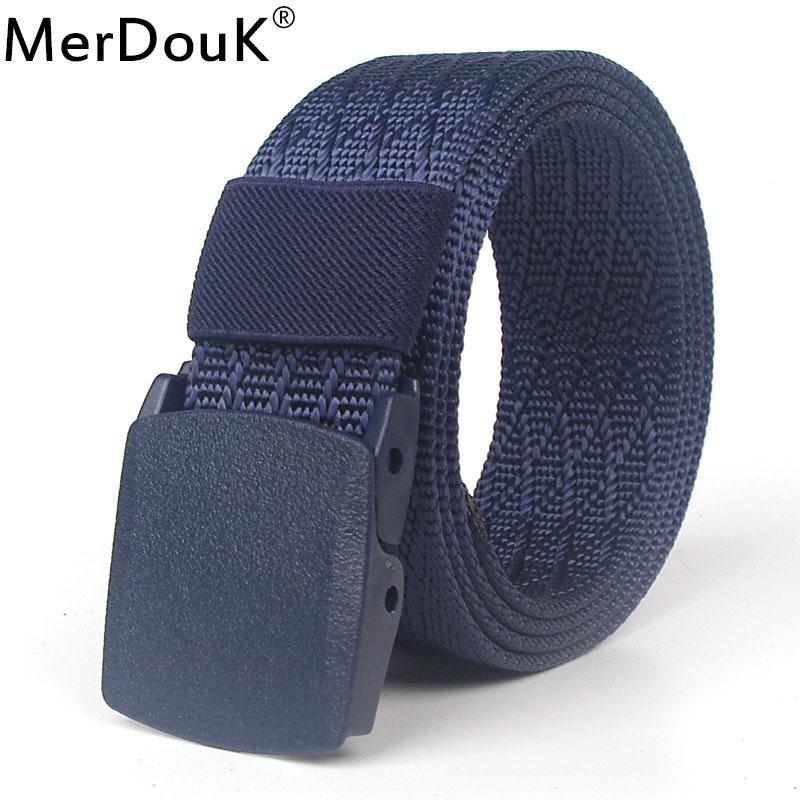 Compre 120 Cm Hombres Cinturón De Nylon Informal Pom Buckle Cinturones  Tácticos Cintura Lienzo Male Jeans Cinturones De Secado Rápido Control De  Seguridad A ... d4496ceea9e5