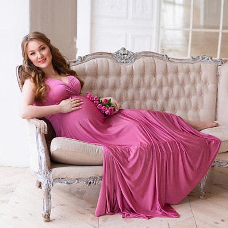 9335291e0 Compre Embarazo Elegante Vestido De Fotografía Vestido De Maternidad  Vestidos Para Sesión De Fotos Ropa Para Mujeres Embarazadas Vestidos Ropa  De Maternidad ...
