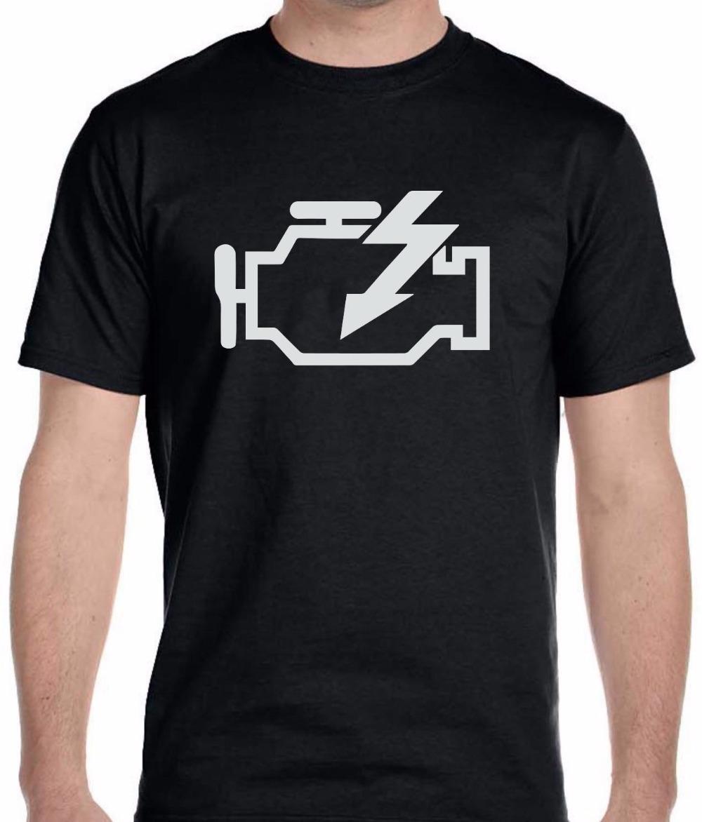 53dfd9d51badf Compre Camiseta Con Diseño A Cuadros De Control Del Motor Camiseta Con  Ajuste A Cuadros Con Cuello Redondo A Cuadros Para Hombre A  11.0 Del  Shop4you2018 ...