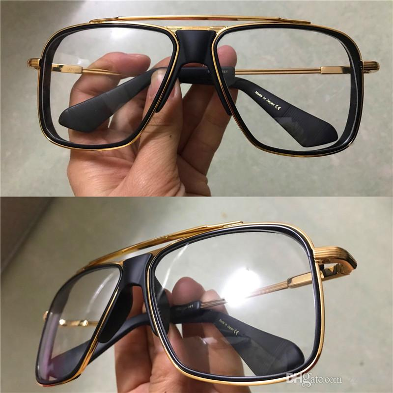 c4143995700 Fashion Designer Optical Glasses INITIATOR Men Classic Eyewear Retro ...