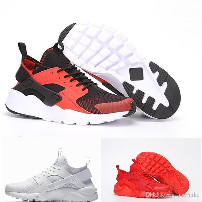 the best attitude 08a18 15745 Acquista Nike Air Huarache 1 2 3 I II III Nuovi Colori Huaraches 4 IV  Casual Scarpe Uomo Donna, Top Qualità Air Huarache Run Ultra Traspirante  Mesh Cuscino ...