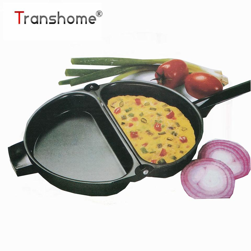 Double-sided Frying Pan Non-stick Barbecue Cooking Tool Maison Plaques, Lèchefrites