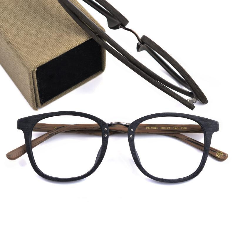 876170568c8 2019 Coyee Fashion Wood Style Eyewear Handmade Acetate Eyeglass Frames  Square Full Rim Women Men Glasses Frames Optic RX Spectacles From  Marquesechriss
