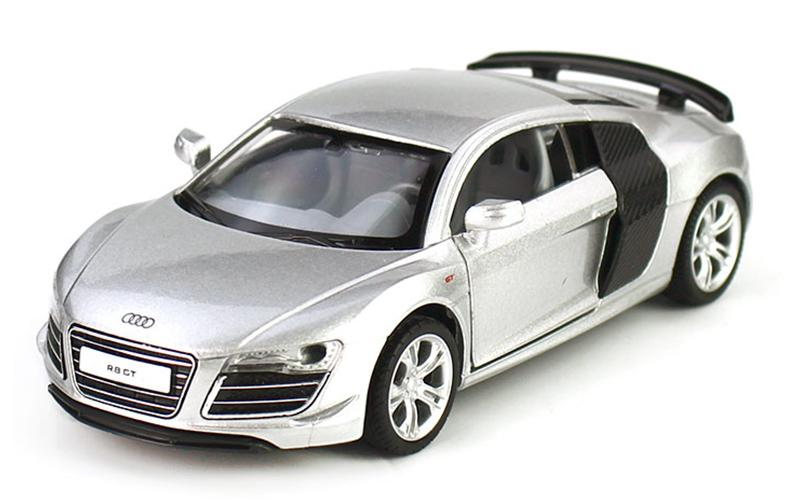 Audi R Alloy Car Model Realistic Engine Sound Back To - Audi r8 engine