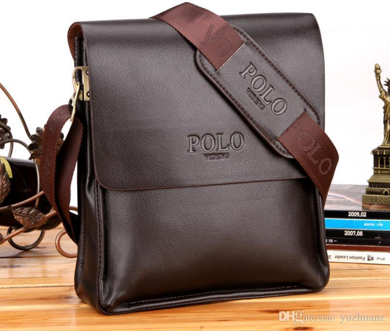 a7249c166f 18SS Wholesale In 2018 Genuine POLO Men Bag Casual Business Brand Mens  Messenger Bag Vintage Men S Crossbody Bag Bolsas Male L60 Fashion Bags  Leather Bags ...