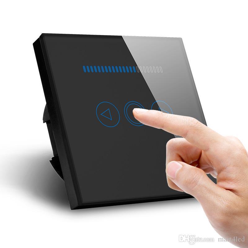 Eu Standard Led Dimmer New Design Glass Panel Touch Light Switch ...