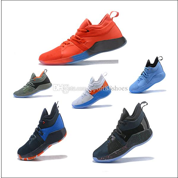 bd596892c82 2018 Newest Paul High Quality George PG 2 Basketball Shoes PG2 PlayStation  All Star Taurus March Madness Luminous Tongue Sports Sneakers Ou Walking  Shoes ...