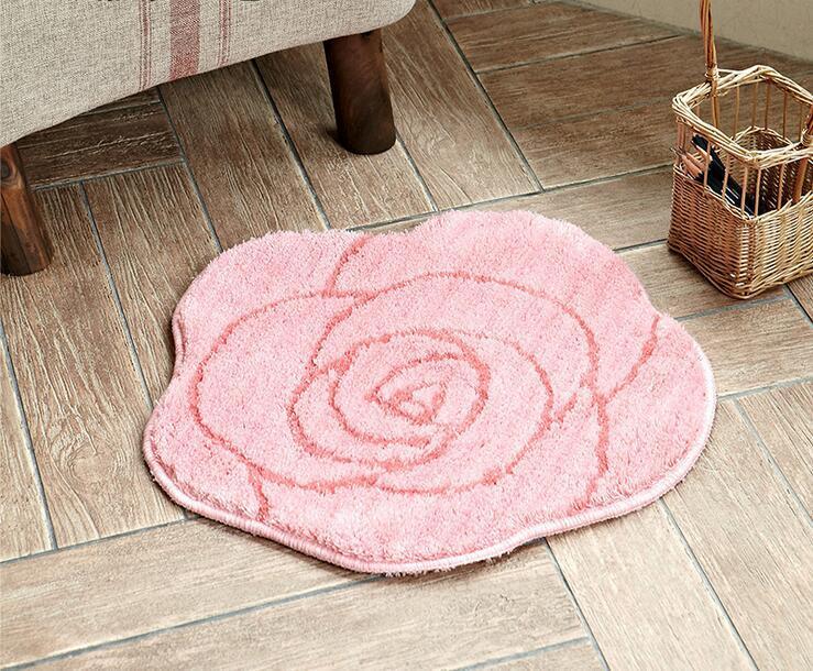 Tappeto Da Salotto Rosa : Acquista tappeto rosa tappeto peluche tappeto bagno camera da