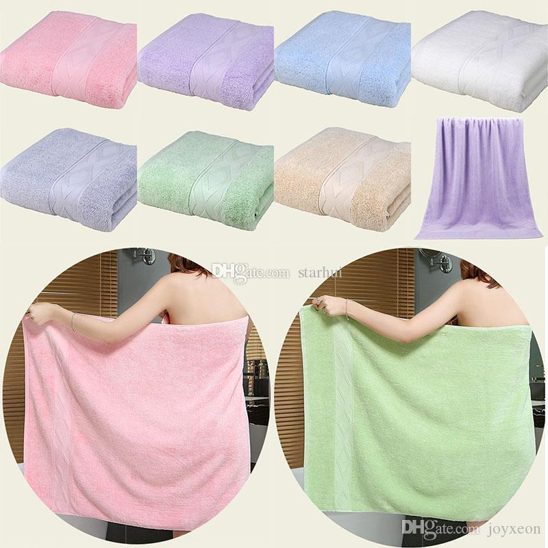 New Cotton Bath Towel Lady Girls SPA Shower Towel Body Wrap Bath Robe Beach Spa Bathrobes Home Hotel Supplies Xmas Gifts 140*70cm WX9-1055
