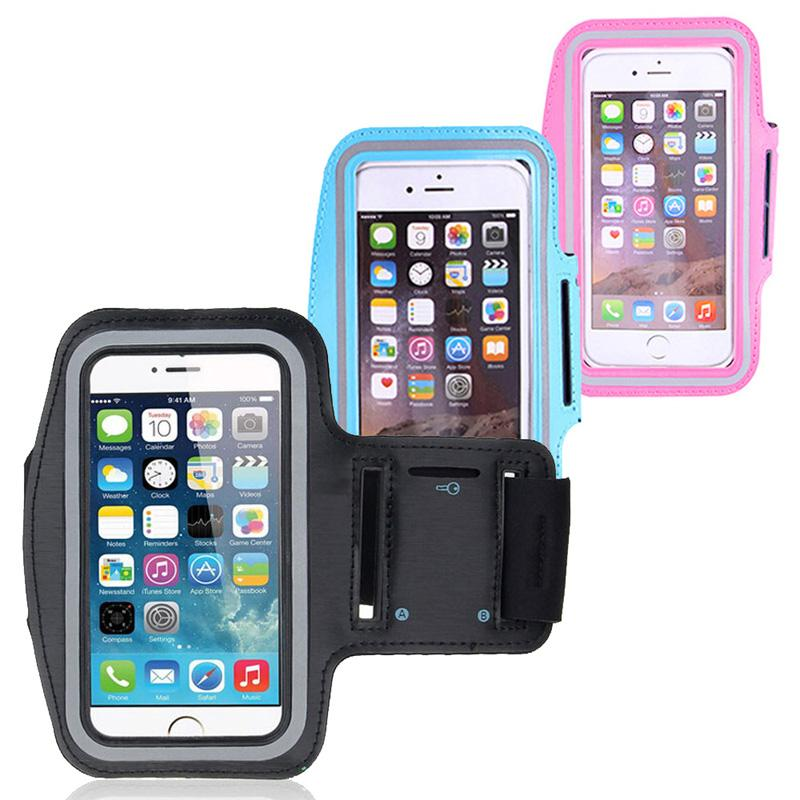 outlet store 39b3a da776 Armband For ZTE Blade G Lux / Kis 3 Max Universal Smart Phone Running  Sports Adjustable Armband Bag Cover For 4.7 Inch-5 Inch