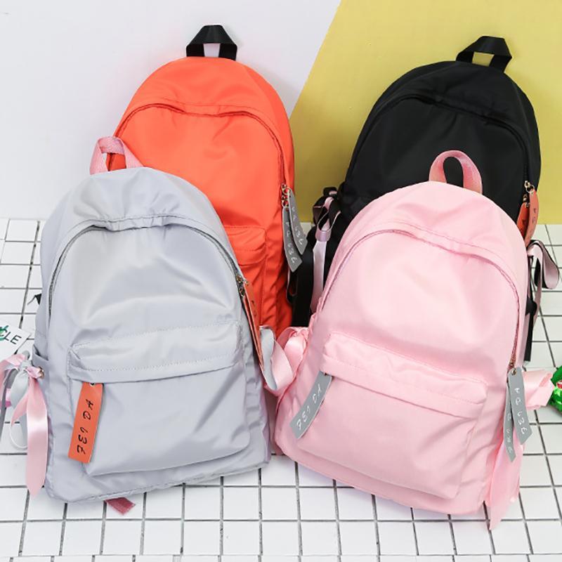 3033422b34c3 2019 Fashion2018 Japan Ring Backpack Nylon Women Backpack Leisure Travel  Bag Best Backpack Female Adolescent Girl Everyday Bagpack Mochila Designer  ...