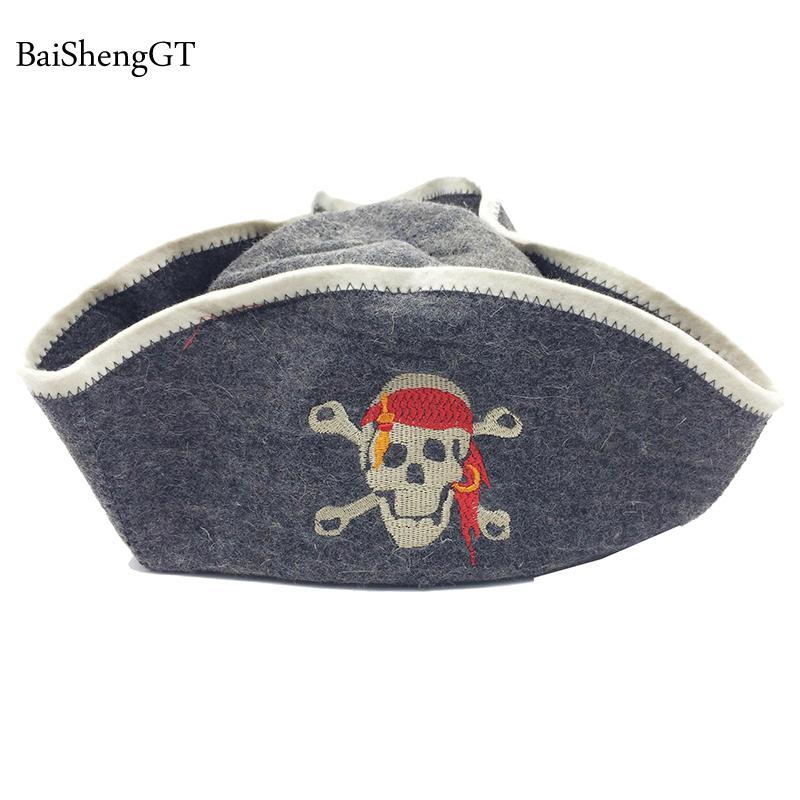 ae13e62789 2019 Russian Style Wool Men Sauna Hat Anti Heat Cap For Bath House Head  Protector Caps Sauna Room Accessories Women Beanie Hats BSG From Hcaihong,  ...