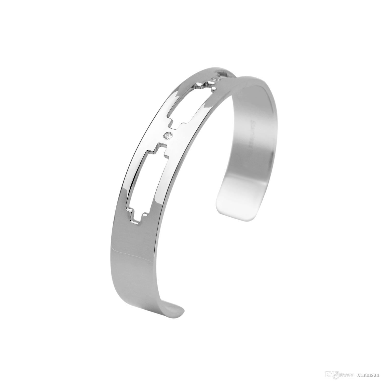 Titanium Steel Cheap Bracelet For men Cuff bangles fashion jewelry