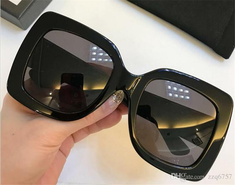 66b5c363d80 New Fashion Selling Women Designer Sunglasses Square Frame Top ...