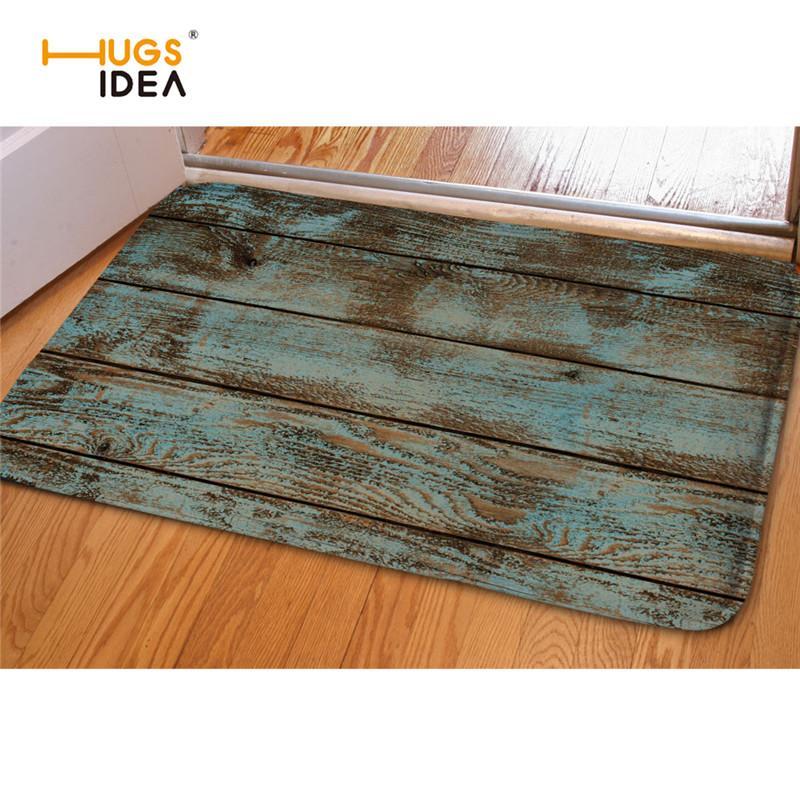 HUGSIDEA 48D Wood Striped Carpets For Living Room Creative Decorative Awesome Best Living Room Carpet Creative