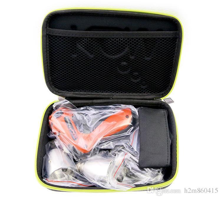 Haute Qualité New KLOM Cordless Electric Lock Pick Gun avec des lames de différentes tailles USA / Euro Alimentation Choisissez Set Guns Outils de serrurier
