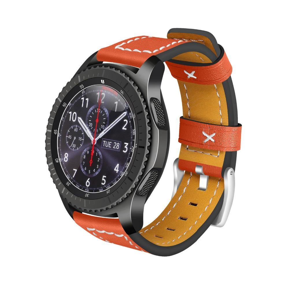 gear s3 frontier accessori  Acquista EIMO Watch Strap Samsung Gear S3 Frontier Band Classic ...