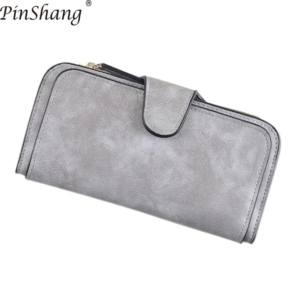 PinShang 2018 New Brand Leather Women Wallet High Quality Design Hasp Card  Bags Long Female Purse Ladies Clutch Wallet ZK40 French Wallet White Wallet  From ... c955614ffaef
