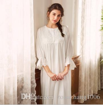 e5992bbcb5 2019 French Romantic Long Sleeved Dress