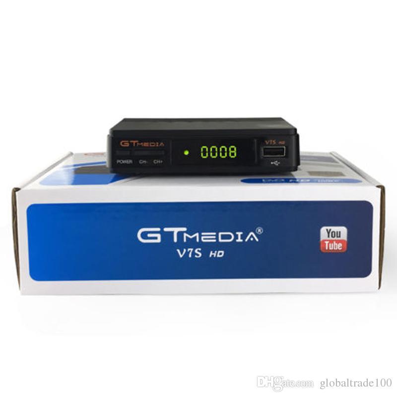 Freesat GTMEDIA V7S HD FTA Digital Satellite TV Receiver DVB-S2/S Support  BissKey 1080P Upgrade From V7 HD Digital Receptor