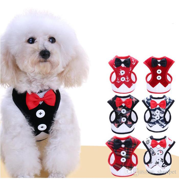 2019 Dog Harness & Leash Pet Leads For Small Dogs Puppy Dog Harness