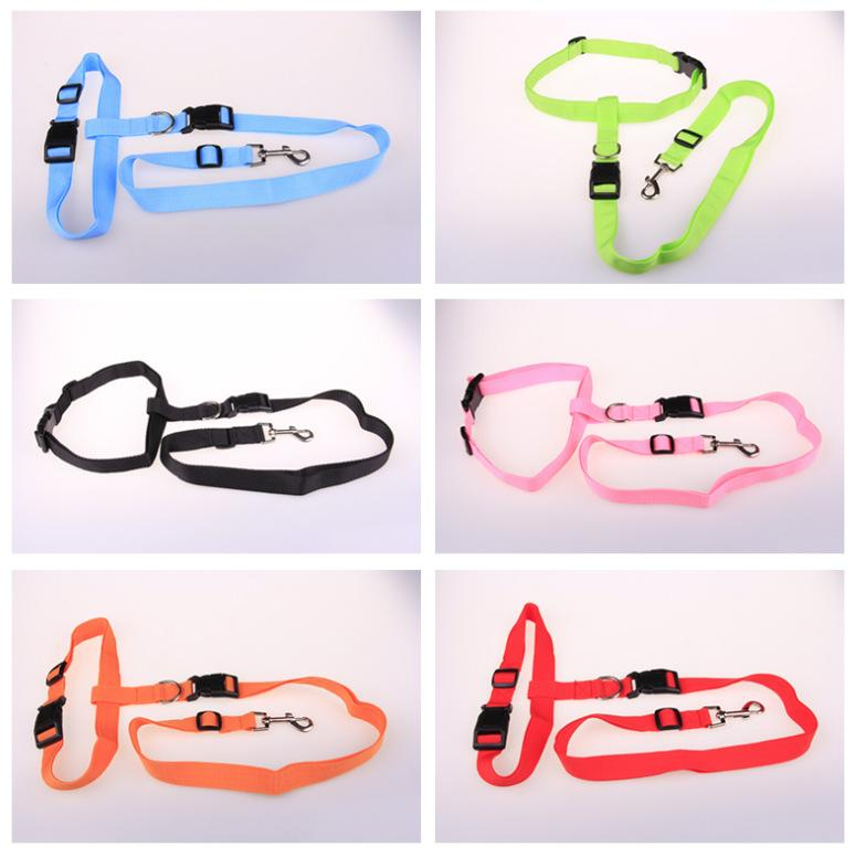 Pet supplies Running Pull the dog morning run Special leashes Running Pulling Three-piece Value Factory Direct supply
