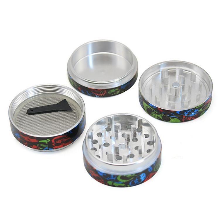 2018 nuevo diámetro 50 mm de cuatro pisos de aleación de aluminio apliques de cigarrillos encendedor plano fumador
