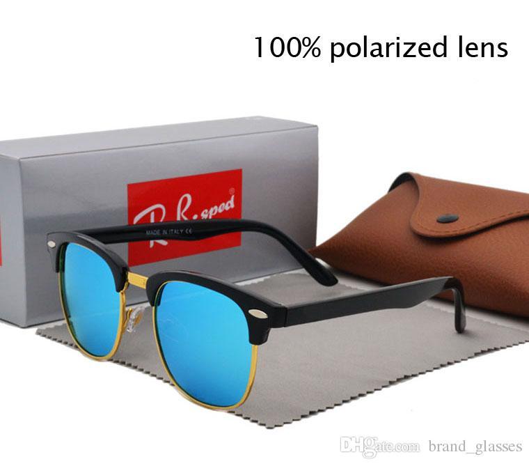 Marque Designer Polarized Lunettes De Soleil Oeil De Chat pour Hommes Femmes Haute Qualité Sport Sun Glass lentille polaroid Gafas de Sol
