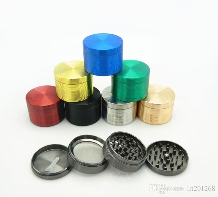 Accendisigari a 4 strati in puro colore 63MM con design cilindrico multicolore