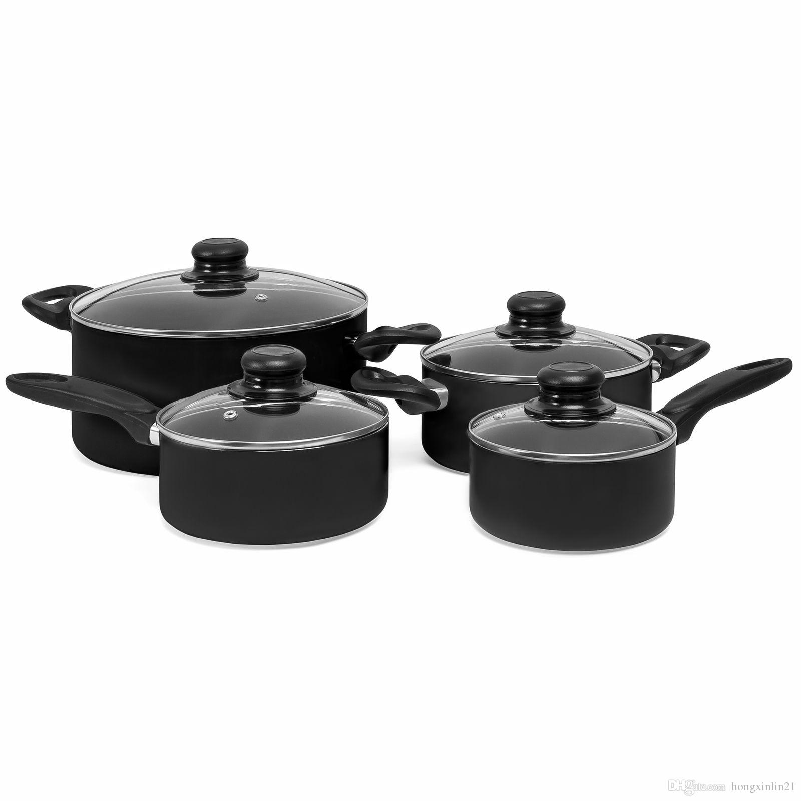 Nonstick Cookware Set Kitchen Pots Pans Nonstick With Cooking ...