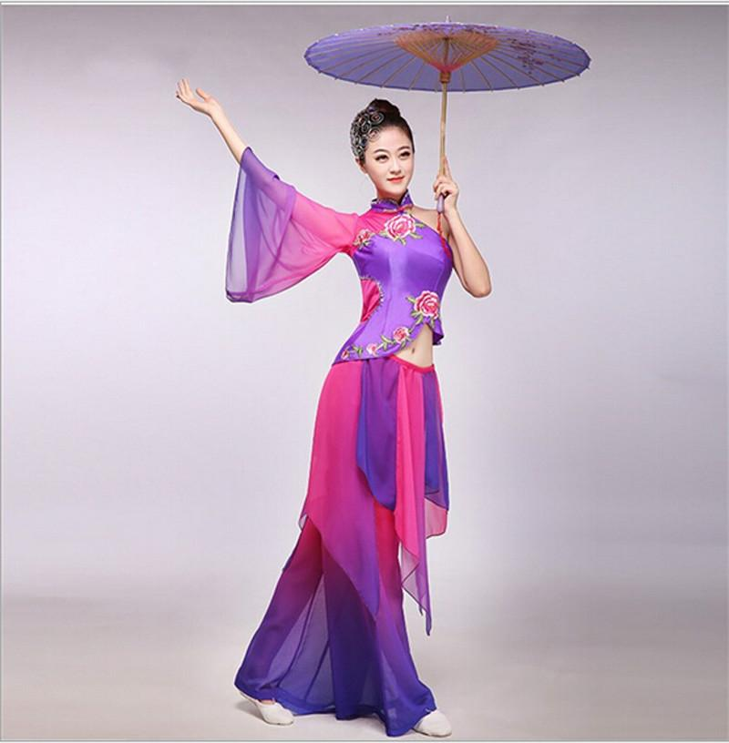 c6590821a 2019 Chinese Folk Dance Costume Yangko Dance Wear Women Drum Fan Square Costume  Chinese Traditional Clothing For Women From Xx2015, $51.02 | DHgate.Com